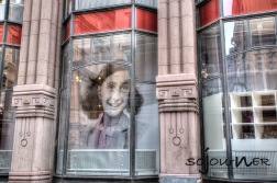 Anne Frank museum in Stockholm