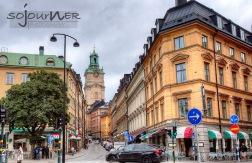 Old streets of Stockholm